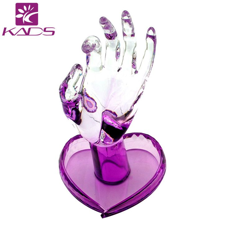KADS Acrylic Nail Practice Hand Supply New Super Flexible Rotate Human Fingers Personal & Nail Trainer Training Practice Hand