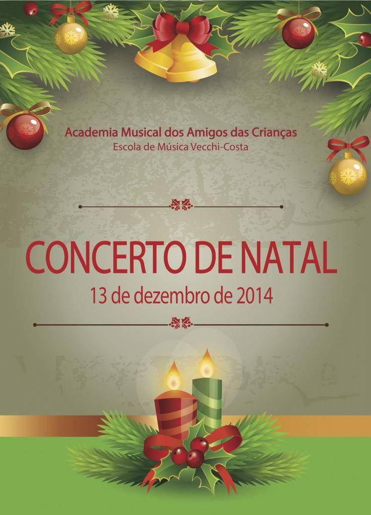 Concerto de Natal da AMAC, 2014.