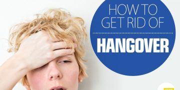 get rid of hangover