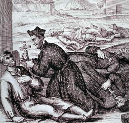 "Early medieval medicine was often a mix of the pagan, religious, and scientific. Patients who had contracted the bubonic plague were told to perform penance – the practice of confessing one's sins, then performing a religious devotion prescribed by a priest – a common ""treatment."" They were told they might be spared death if they correctly confessed their sins."