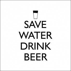 Adesivo Decorativo Cozinha Geladeira Save Water