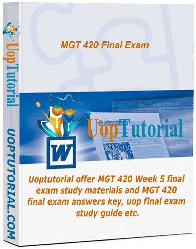 mgt 311 study guide