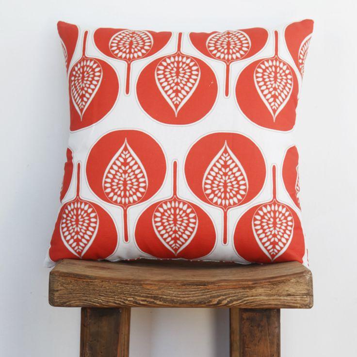 Boheme Fantail Coral Accent Cushion l Eco Friendly Cushions  l Save $60 AUD!