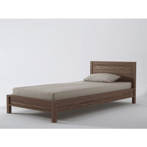 Hawker Single Bed Bring a touch of class into your bedroom with this Single size bed. Made of Teak wood, this bed is strong, durable and environmentally friendly. The wood finish on the bed matches