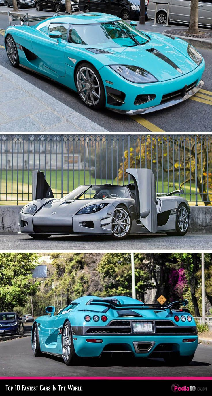 Top 10 Fastest Cars In The World ( 2020 ) I Pedia 10