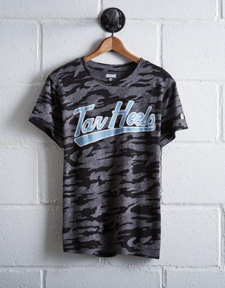 Tailgate Women's Camo UNC Tar Heels T-Shirt
