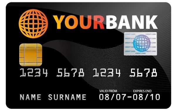 Credit Card Illustration Creditcard Credit Card Free Vector Background Bank Black Business Card Credit Design Fr Credit Card Design Credit Card Cards