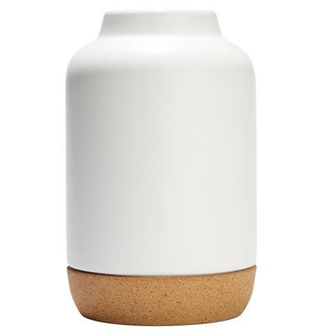 Cork Trim Vase