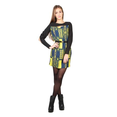 Versace Jeans - D2HMB446 Multi Color Woman Dress. Beställ hos AuMalkia. #aumalkia #fashion #dress#