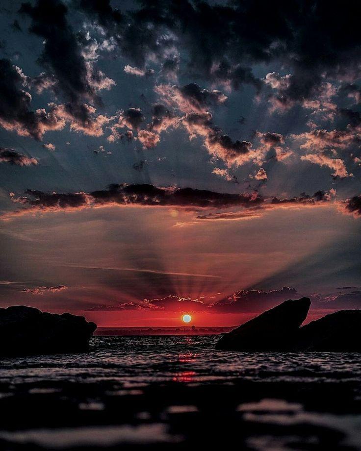 Фото прекрасного заката