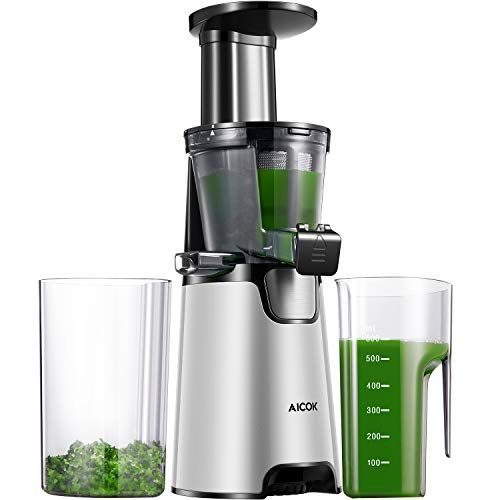 Juicer Machines, Aicok Slow Masticating