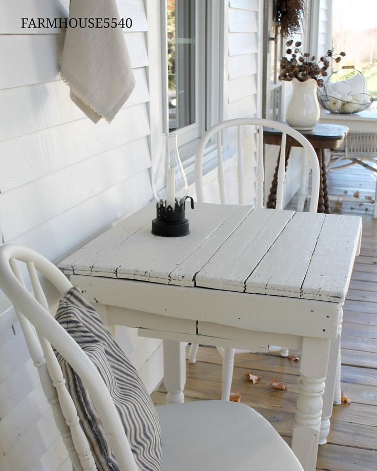 Best 25 White Farmhouse Exterior Ideas On Pinterest: Best 25+ Front Porch Furniture Ideas On Pinterest