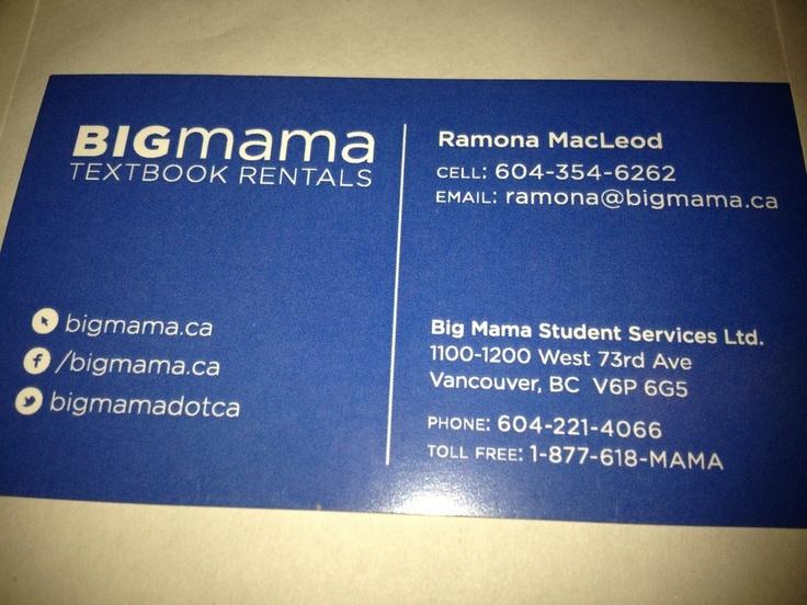 Big Mama Textbook Rentals