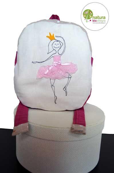 Zainetto bimbo con ballerina