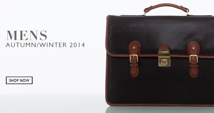 Cathy Prendergast Irish Designer Leather Bags, Briefcases, Satchels and Accessories | Classic Mens Collection AW2014