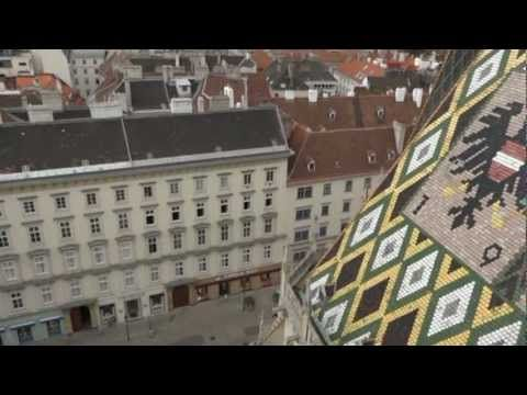 Stephansdom & view from its North Tower (Vienna)