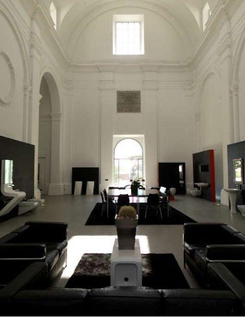 Artceram Civita Castellana, inside the Showroom