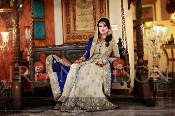 Bridal Walima Dresses Collection 2014 for Pakistani Bride   Stylespoint.com
