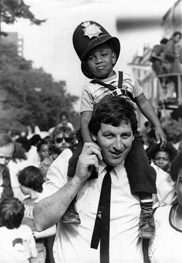 Notting Hill Carnival, London, 1980