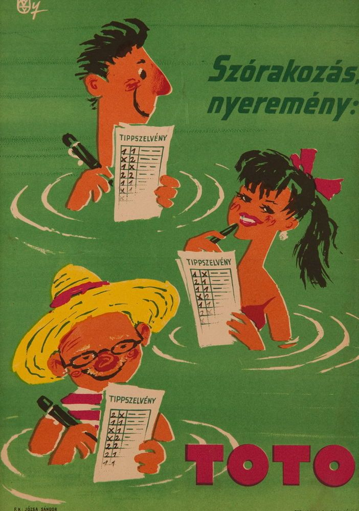 13 pcs poster + Newspaper from 1960
