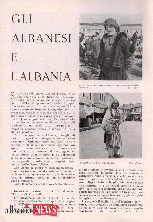 """Foto originale dello studio """"Gli Albanesi e lAlbania"""" dell'illustre geografo Ferdinando Milone pubblicato nel 1942.   Potete leggere l'articolo pubblicato su ALBANIA NEWSda questo link http://ift.tt/2gFBaE6 - http://ift.tt/1HQJd81"""