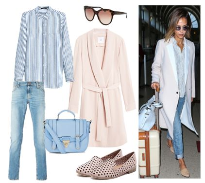 Celebrity Style / Jessica Alba  by Josefinaelizalde on Set That -