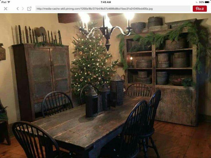 35 mejores imágenes sobre primitive colonial kitchen en Pinterest ...