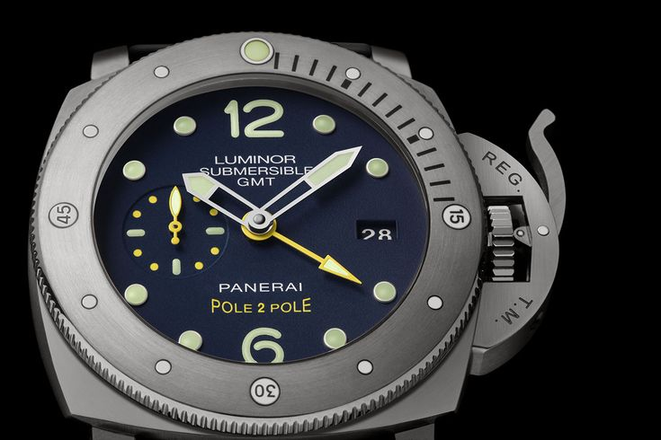 """Panerai Luminor Submersible 1950 3 Days GMT """"Pole2Pole"""" - Mike Horn - PAM00719"""