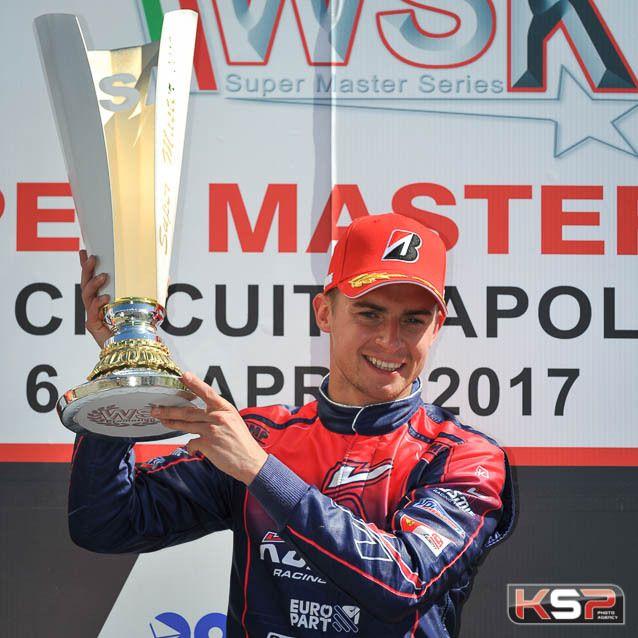 Kosmic: Victoires en KZ2 et OK à la WSK Super Master de Sarno