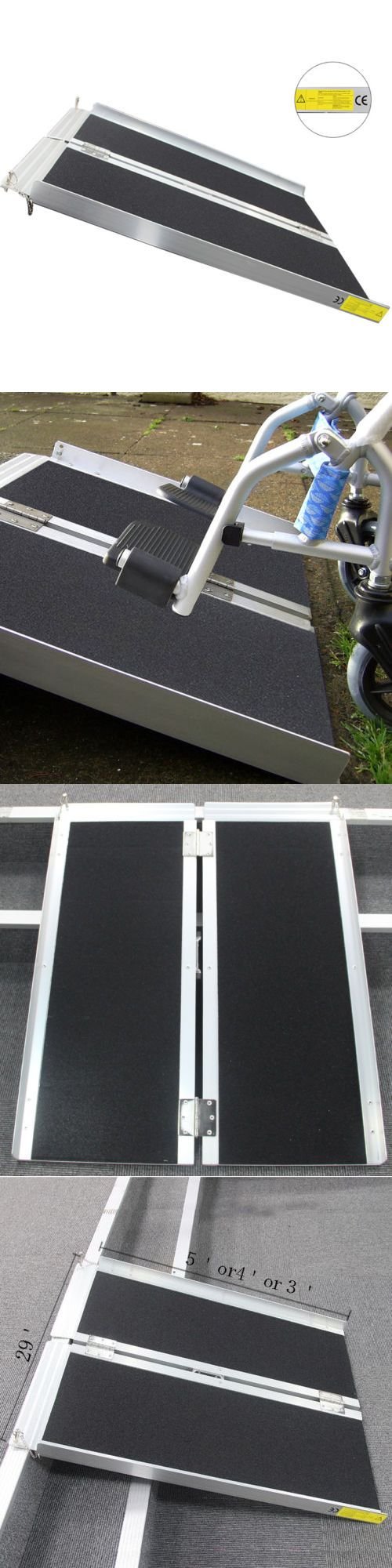 Access Ramps: 5 Wheelchair Ramp | Scooter Ramp | Literamp Portable Handicap Ramps -> BUY IT NOW ONLY: $103.9 on eBay!