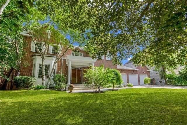 LUXURY HOME: Custom Built~ Builder's Own~ Large 102 Ft X 200 Ft* Private Estate In Prime ' Thornhill!~ 5+1 Bed,9 Washrms!~ Concrete & Brick Construction! Natural Walk-Out Elevation! ~grand 20+ Ft. Cathedral Foyer Entrance!~2 Full Staircases!~ 'High Ceilings On All 3 Levels!~ 3 Car Garage!~3 Fireplaces!~2 Main Floor Washrms!~ 2 Washrms In Lower Level!~ Large Fin. Walk-Out To Huge 20 Ft X 40 Ft ' Betz' Concrete In-Ground Swimming Pool! Sauna!~ ~ 400 Amp Service!~ Must See!