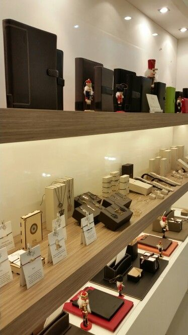 Jewelry collection & Leather desk sets available at Type Center - Thessaloniki