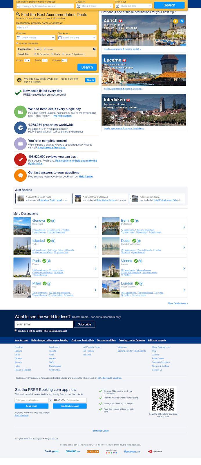 Самый популярный в мире интернет ресурс по бронированию отелей!