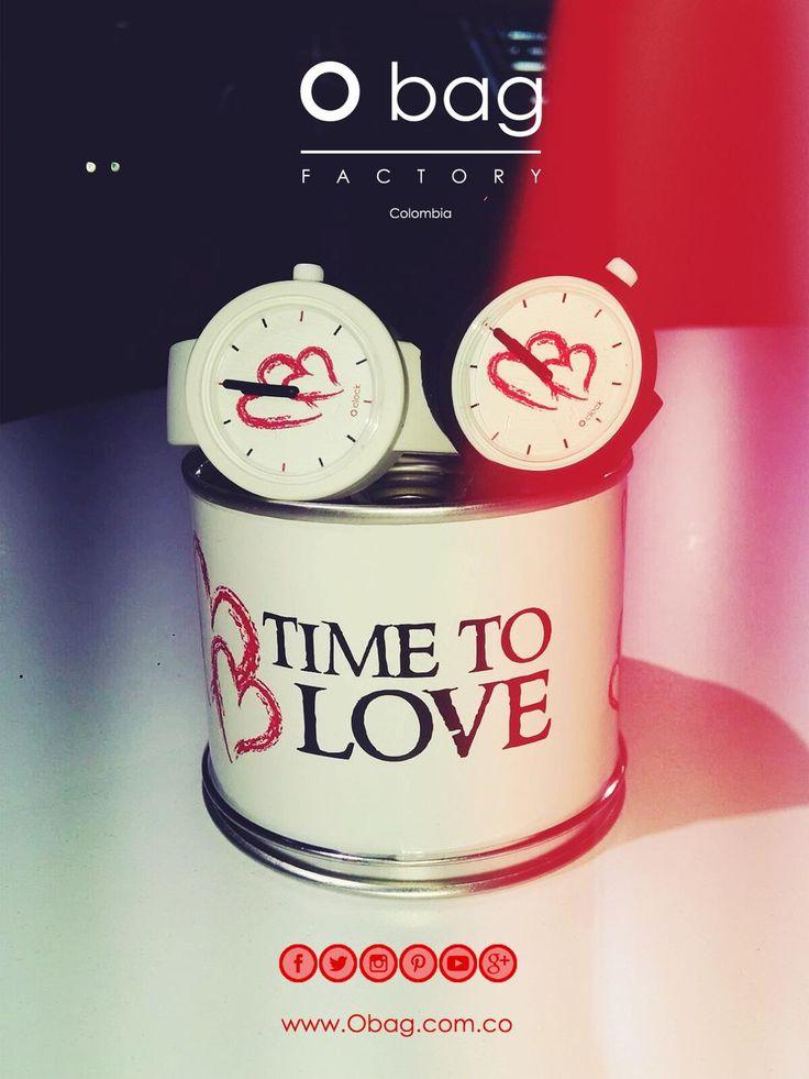 """""""Lo pasado ha huido, lo que esperas está ausente, pero el presente es tuyo""""  Time to love...  www.Obag.com.co"""