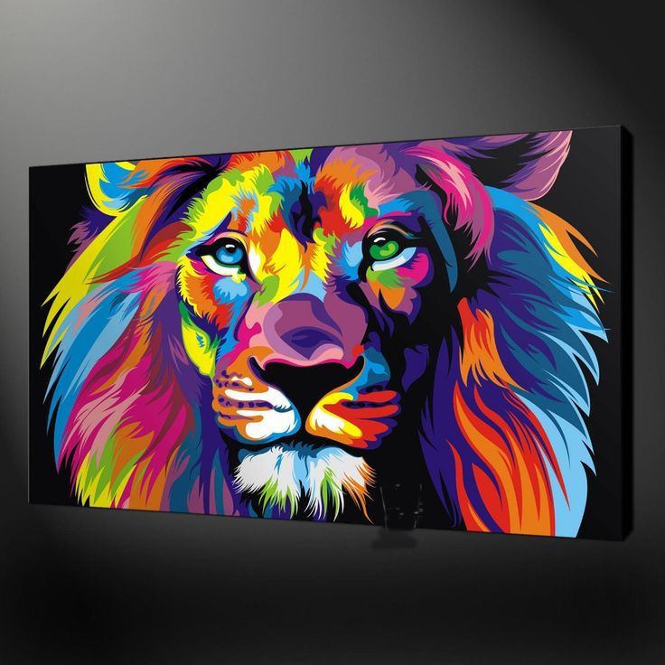 Lion Painting Promotion-Shop for Promotional Lion Painting on ...