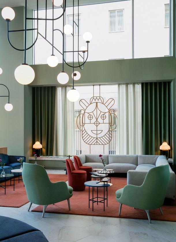 Отель в Мадриде от Хайме Айона | Интерьеры в журнале AD | AD Magazine