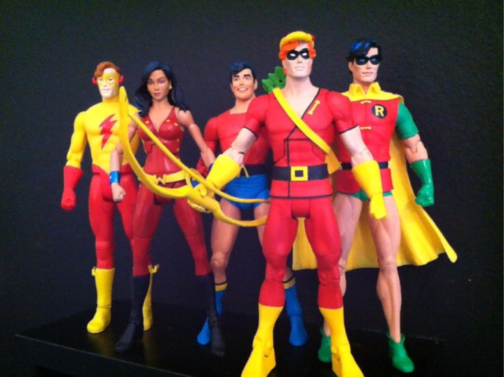Teen Titans Toys Action Figures : Dc direct universe classics collectibles teen titans