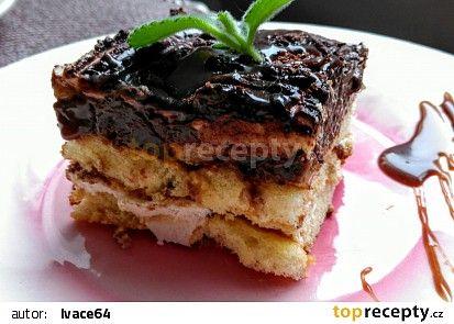 """Odlehčené banánové """"tiramisu"""" (bez cukru, smetany, šlehaček, pomazánkového másla apod.) recept - TopRecepty.cz"""