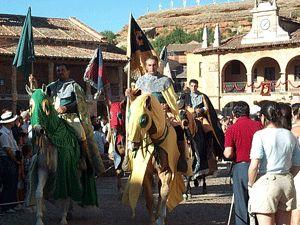 Feria Medieval en Ayllon. Segovia
