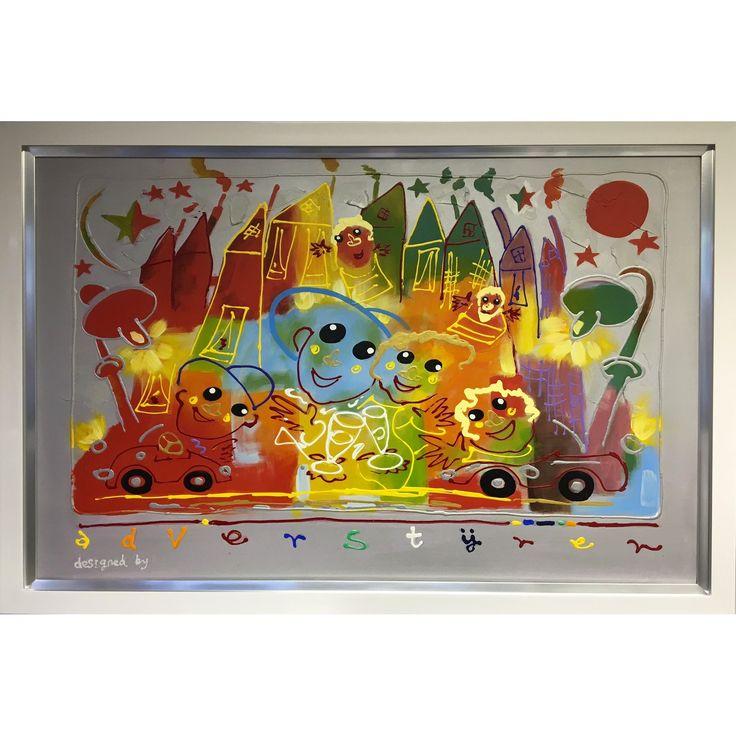 Ad Verstijnen schilderij 'Dagje Uit'