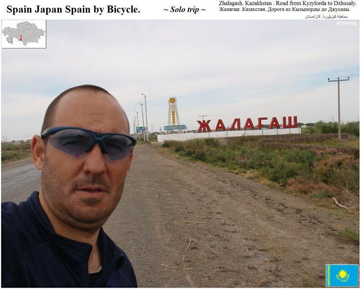 Kazakhstan.Zhalagash. Solo trip. @jsanag Казахстан. Дорога из Кызылорды до Джусалы http://plus.google.com/+JesusSanAgustin путешествовать в одиночку.