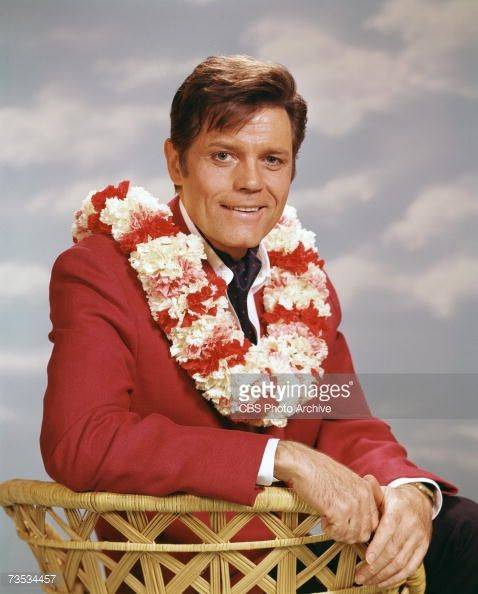 Promotional portrait of American actor Jack Lord (1920 - 1998), born John Joseph Patrick Ryan (as Steve McGarrett) from the television police crime drama ' Hawaii Five-O,' 1979. Description from gettyimages.com. I searched for this on bing.com/images
