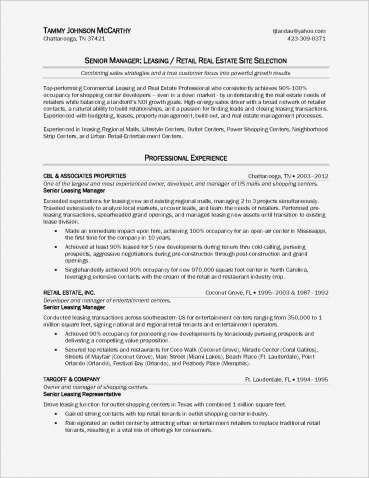 real estate agent job description for resumes