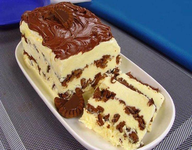 - Aprenda a preparar essa maravilhosa receita de Torta de Sorvete com Nutella