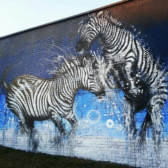 Makatron & Blo Footscray Melbourne street art graffiti