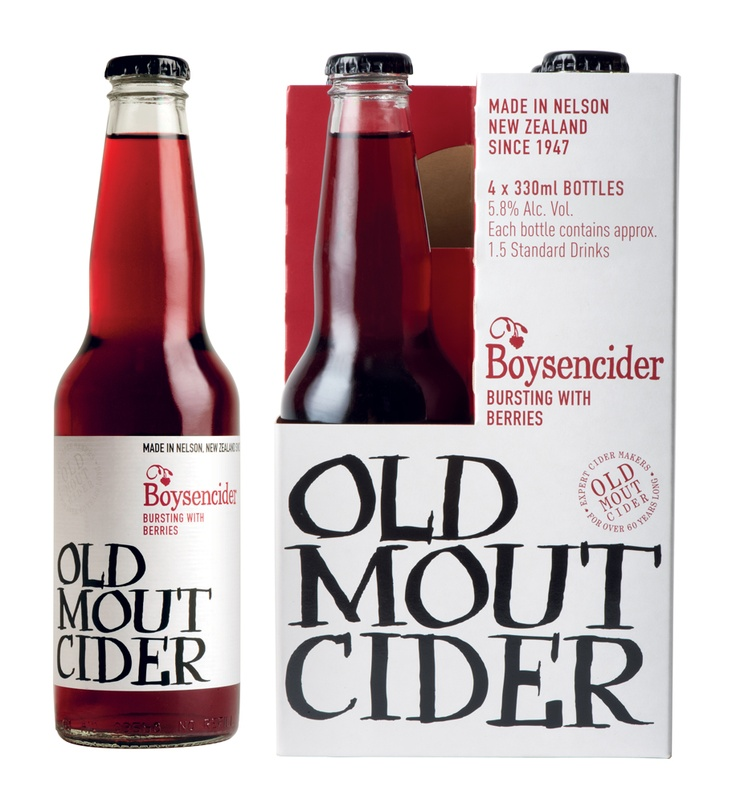 """""""Nothing quite like Boysencider Old Mout."""" My favourite drink, Bradd's favourite joke."""
