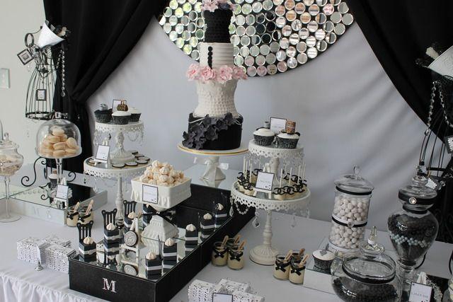 "Photo 9 of 25: Runway/Catwalk Fashion / Birthday ""Runway/Catwalk Inspired 21st Birthday Party"""