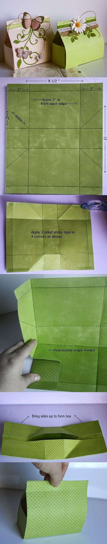 Wow que bella caja para una ocasión especial.