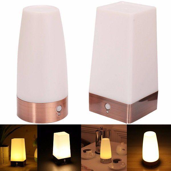 Wireless Pir Motion Sensor Battery Operated Led Table Night Light Desk Lamp Night Light Lamp Desk Lamp