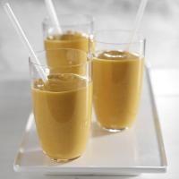 Perzik Shake met rozijnen